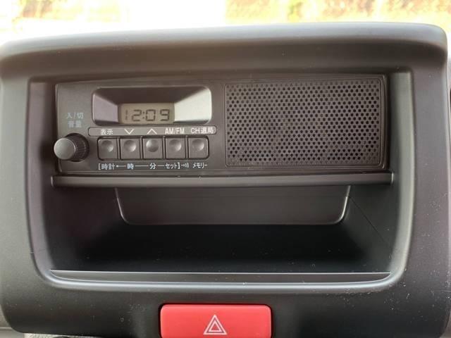 スピーカー一体型ラジオ付き!!