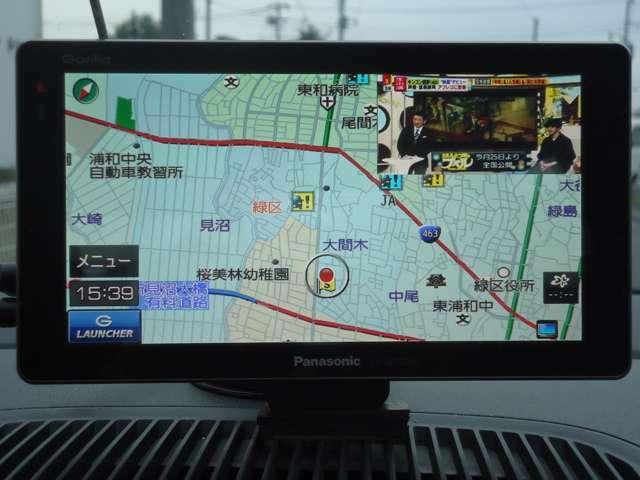 大画面7V型SSPポータブルナビゲーション!TVも視聴出来ます♪