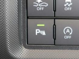 【コーナーセンサー】車の前後にセンサーがあり、障害物が近づくと3段階の警告音で知らせてくれますよ!狭い場所や駐車も安心できますね