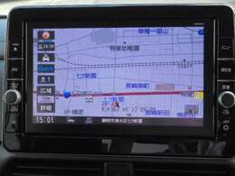 日産オリジナルナビゲーション装備しています。(MM320D-L)9インチ大画面です