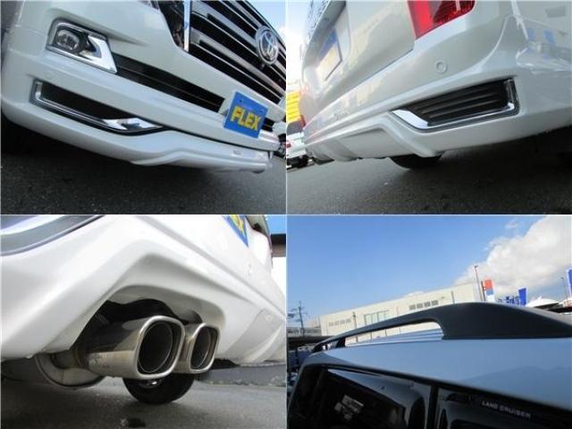 モデリスタフロントスポイラー、モデリスタリアスカート、モデリスタスポーツマフラー、ルーフレールも装備!