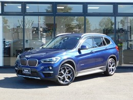 BMW X1 xドライブ 18d xライン 4WD 弊社下取り1オーナー18AWコンフォートP