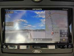「カーナビ」 カロッツェリア製ナビ付きで知らない土地のドライブも安心!CD、DVD、TVも楽しめます♪
