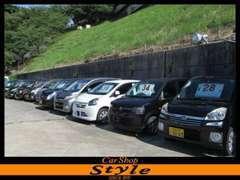 全車、乗り出し価格で販売中!!コンパクトカーや1BOXカーの格安車も展示中です☆