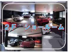 本社2Fにショールーム開設しました。ごゆっくりお車をご覧いただけるスペースです!
