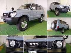 ★良質で厳選車輌の人気SUVを展示中!95プラド ナローカスタム♪