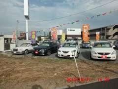 軽自動車からコンパクトカー・ミニバンまで各車種展示しています