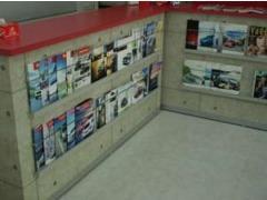 !各種雑誌はもちろんのこと新車カタログを豊富に取り揃え中!