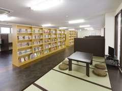 パソコンコーナーやマンガ雑誌も充実!お待ちの間も超快適&楽しいお店です!!