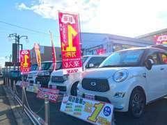 隣地には月々払専門店!新車に月々定額1万円で乗れると話題です。詳しくは▼www.bluemoon-auto.jpを!