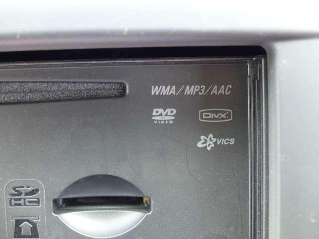 DVD再生機能搭載!