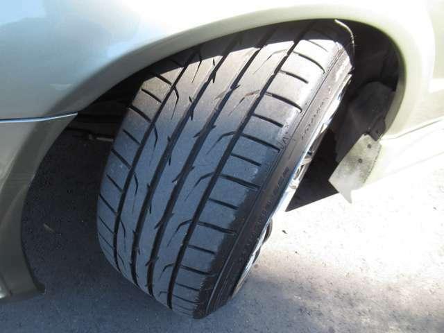タイヤの残り溝もまだまだあります!