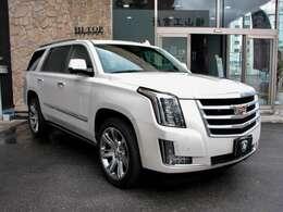 全長5,140 x 全幅2010 x 全高1910 アメリカンビッグ SUVの名に相応しいサイズ