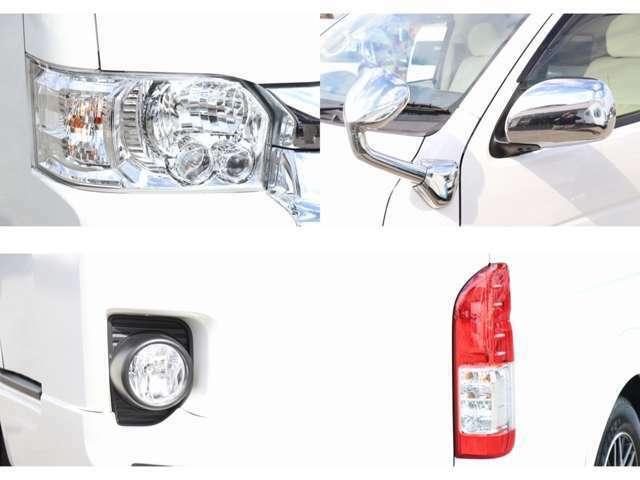 LEDヘッドライト フォグ モデリスタエアロ