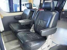☆後席はトヨタ純正他車種流用のスライドシート仕様となっております☆