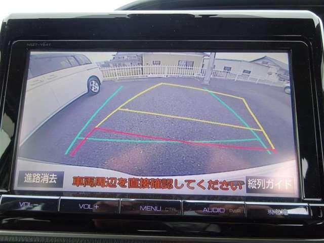 バックモニター装備!駐車時等に活躍♪ ガイドライン付きで、自信が無くても O.K(^^) 一度体験すると、無くてはならないものですよ☆