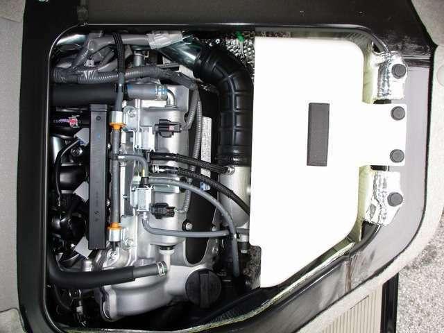 R06A型DOHC直列3気筒ターボエンジン JC08モード燃費15.4km/L(カタログ値)