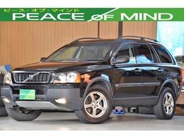 ボルボ XC90 ブラックパールエディション 4WD 検5.4タイベル交換済みターボETC黒本革S4WD