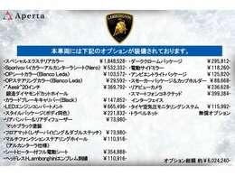 OP約600万!オプションマットカラーである「グリジオチタン(1,848,000円)」に身を包んだウラカンEVOが入庫しました。