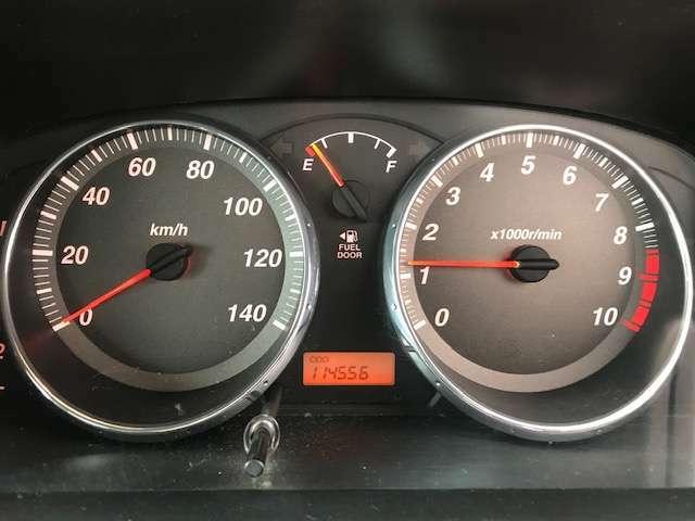 メーターパネルは、左にスピードメーター、右にタコメーターとなります。