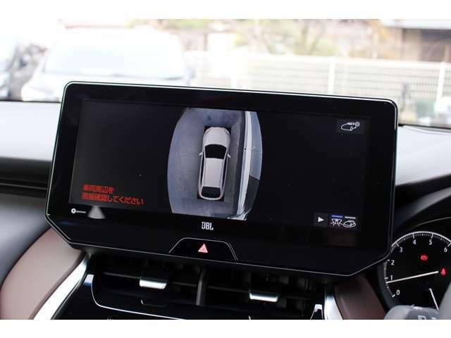 大きな車両でも安心して駐車できるパノラマビューモニターも装着済みです★