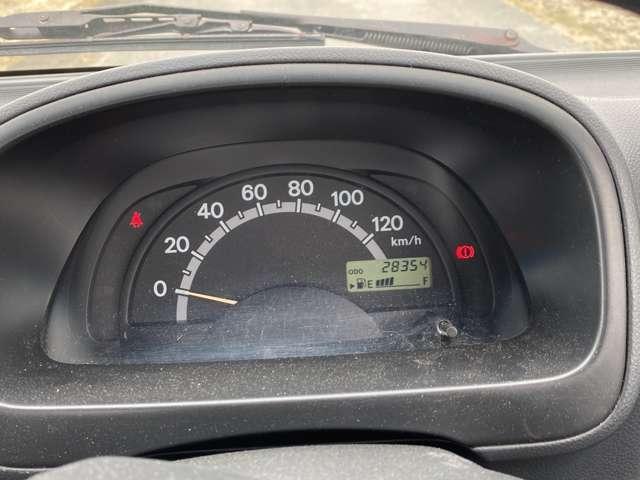 <メーター>走行距離2.9万kmです!