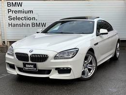 BMW 6シリーズグランクーペ 640i Mスポーツ 認定保証黒革LEDヘッド19AWサンルーフETC