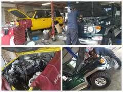 当店は認証工場完備で安心の整備・アフターサービスを実施しております!車検や修理、整備などでもお気軽にご相談下さい(*^。^*)