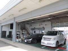 整備工場も完備しておりますので、購入後もご安心ください!