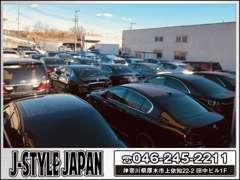 広々としたバックヤードでノーマル車輌からバックオーダーも承ります。常時100台以上車を在庫してます!