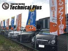メルセデス・ベンツ、アウディなどの輸入車を中心に、カスタム系のプリウスも取り扱っております。