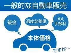 一般的な自動車販売は・・・