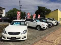 買取車輌展示がメインの為価格帯、車種は様々です♪