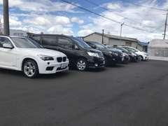 在庫展示車両多数あり!在庫にないお車でも全国のオークション会場から探すことも可能です!