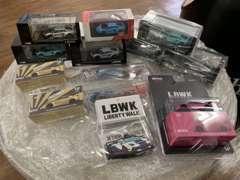 各種ミニカーも店内で販売中!!最近ではミニGTの仕入れに力を入れております。