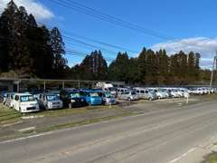 第2展示場の高城店に軽自動車を展示しております!無人なので、ご自由にご覧下さい。