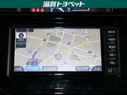 トヨタ純正ナビゲ-ション装着車です。ワンセグ放送・CD再生などがお楽しみ頂けるナビゲ-ションです。