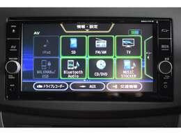 純正ナビ装備♪フルセグTV・Bluetooth・CD/DVDなどなど機能満載です☆