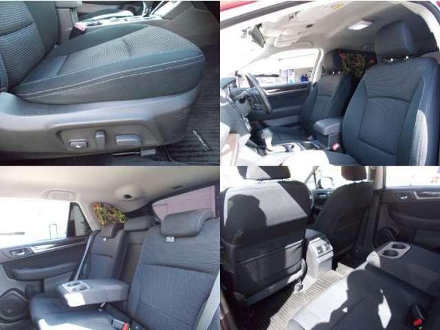 フロントシートは運転席、助手席ともに電動シートになっています!