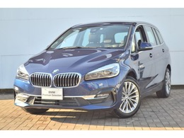 BMW 2シリーズグランツアラー 218d xドライブ ラグジュアリー 4WD 認定中古車 純正ナビ ワンオーナー 禁煙車