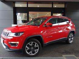 ジープ コンパス リミテッド 4WD サンルーフ レザーシート 新車保証付き