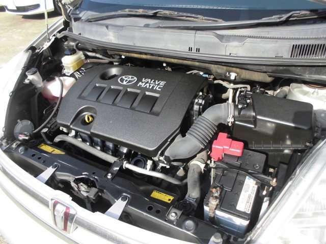 修復歴ナシの、ツインカムエンジンです