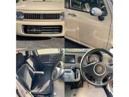 Xセレクションの特徴を説明します。フロントメッキグリル・ドアハンドルメッキ・ウインカー付ミラー・車内シート黒色・ハンドル革巻き・ドア内張黒色です。エアコンはオートエアコンです。