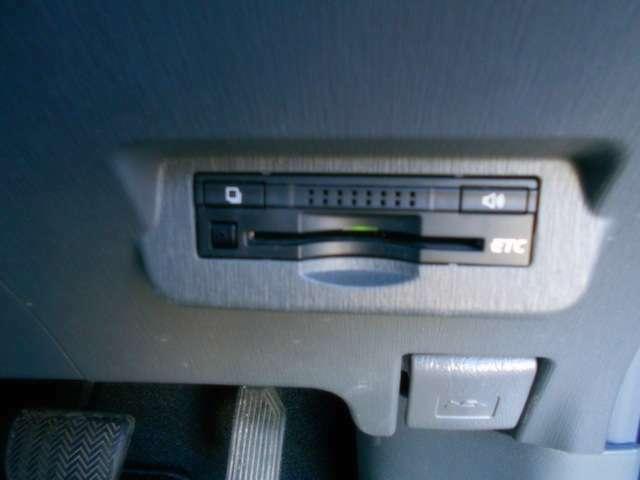今や高速ドライブの必須アイテム、ETCです。
