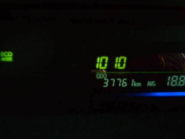 撮影時の走行距離です。