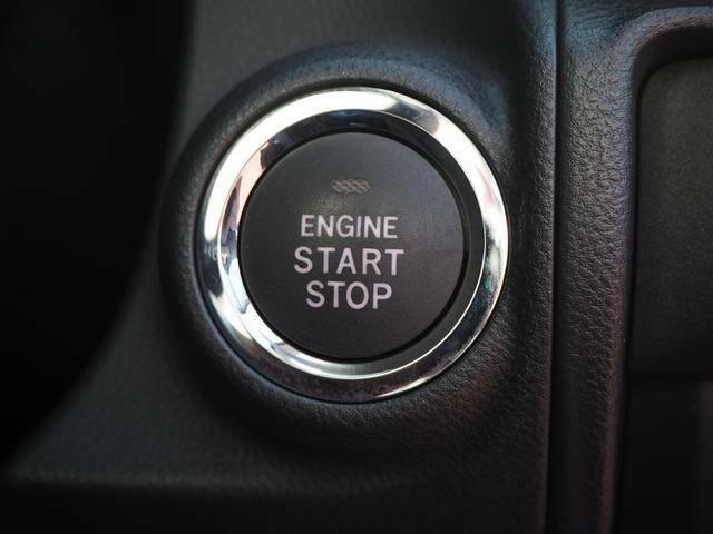 エンジン始動もワンプッシュで可能です