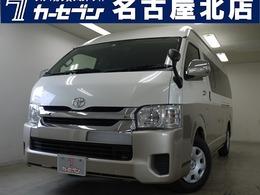 トヨタ ハイエース 2.7 グランドキャビン スーパーロング/ALPINEモニター/10人乗り