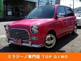 ダイハツ ミラジーノ 660 全塗装シートカバーローダウンウッドパーツ