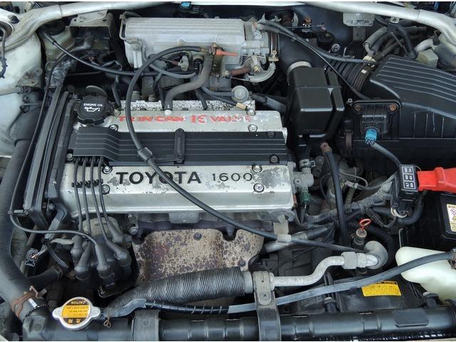 1.6L DOHC(4A-GE型)のエンジンを装備