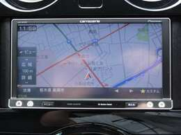 社外メモリーナビ(パイオニアAVIC-MRZ07) CD再生  フルセグTVも車内でも楽しめます。